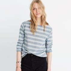 Striped Herald Tee : our current favorites /  Madewell