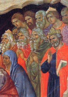 Duccio di Buoninsegna - Maestà - Retro - Discesa al limbo, dettaglio - 1308-11 - Tempera e oro su tavola - Museo dell'Opera del Duomo, Siena