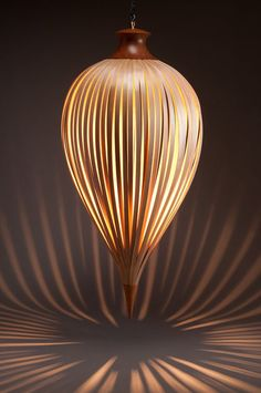 lighting | Lighting of Yellow Cedar Lamp - this architecture education, design ...