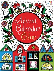 advent calendar to color 799 a beautifully designed fold out advent calendar to color christmas