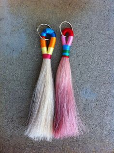 Horse Hair Tassels...