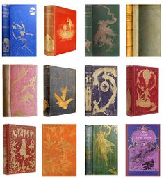 Andrew Lang's Fairy Books of many colours - series of 12 published between 1889-1910