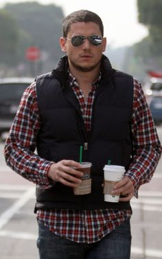 Wentworth Miller | Why thank you, yes, I'll take that coffee, my dear!