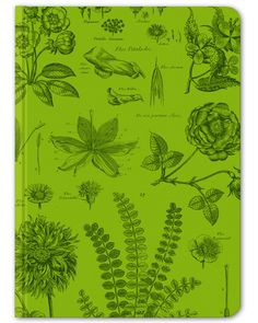 Botany Vintage Hardcover Journal - Large