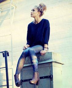 Space pants (by Petra Karlsson) http://lookbook.nu/look/4006624-space-pants