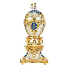 Design Toscano QF3069 Inc Empress Galina Faberge-Style Collectible Enameled Egg Design Toscano http://www.amazon.com/dp/B004AAY6JC/ref=cm_sw_r_pi_dp_jcGDub14KSZ9P