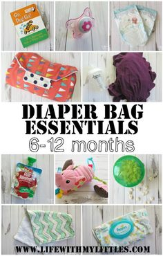eab47d0060f Diaper bag essentials for babies 6-12 months old. Great tips and super  helpful