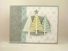 Trio of Trees by mandypandy - Cards and Paper Crafts at Splitcoaststampers