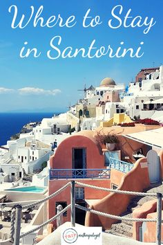 Where to Stay in Santorini. How to Choose which village to stay in the pros and cons of each location and the types of travellers best suited to each village on Santorini. How to book the best accommodation for you in Santorini. Come discover culture Cheap Hotels In Santorini, Holiday Destinations, Travel Destinations, Greece Hotels, Travel Guides, Travel Tips, Travel Articles, Santorini Greece, Ultimate Travel