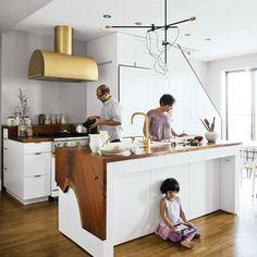 minimalist high-design apartment in Brooklyn