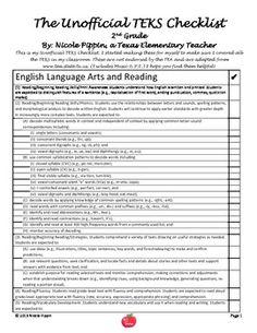 Texas Nd Grade Teacher Resume