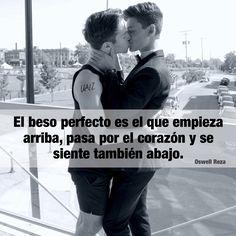El beso perfecto.