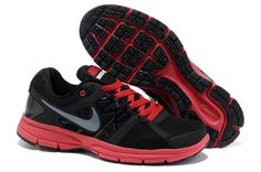 newest collection c3a02 0f232 Nike Air Relentless 2 Msl Mens Black And Cool Grey-Sport Red - Nike Running