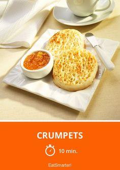Crumpets - smarter - Zeit: 10 Min. | eatsmarter.de