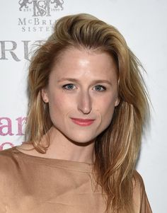 Mamie Gummer attends A Celebration for Patricia Clarkson, Presented by FIJI Water and Truvee Wines on December 15, 2015 in New York City.