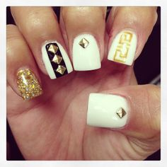 .@Jasmine Ann Jones | My nail doll has me feeling like a Greek goddess  follow her and see her amaz... | Webstagram