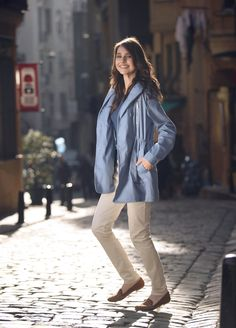 The Selection, Raincoat, Satin, Jackets, Fashion, Rain Jacket, Down Jackets, Moda, Fashion Styles