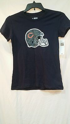 20% off of almost everything until the end of the month. Please view my ebay shop by clocking on this link Womens size small Chicago Bears Blue Short sleeve tshirt Brand new