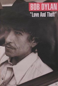 Bob Dylan 2001 Love And Theft Original Promo Poster Double Sided #bobdylan