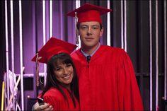 "Rachel and Finn in the ""Goodbye"" episode. Original Air Date 5/22/2012"
