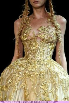 Alexander McQueen~This is absolutely amazing! If you're thinking  the same thing check out my boards and follow me. I will return the favor!