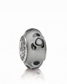 PANDORA Charm - Murano Glass & Sterling Silver Flowers For You Grey | Bloomingdale's