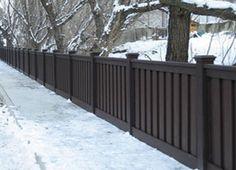 rich color wpc railing