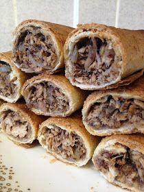 Fabulous Food :): Musakhan (sumac chicken) rolls