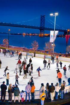 Guide to Ice Skating in Philadelphia (Photo by G. Widman for GPTMC)