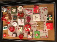 Our Homemade Advent Calendar:)