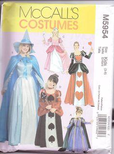 New McCalls Pattern Halloween Costume girls by purrfectstitchers, $5.00