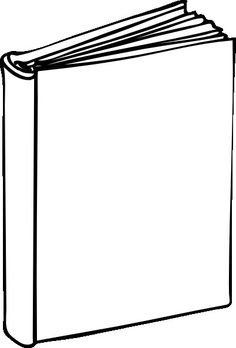 Blank Book Cover Printable - Paul's House - ClipArt Best - ClipArt Best