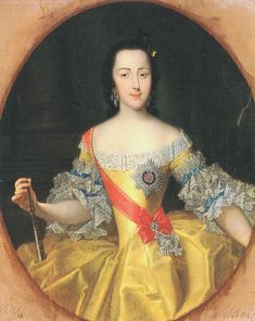 Portrait by Georg Christoph Grooth of the Grand Duchess Ekaterina Alexeevna (later Empress Catherine II of Russia/Catherine the Great) painted circa St. The portrait is in the collection of the Hermitage Museum, St. Peter The Great, Catherine The Great, Adele, Catalina La Grande, Now Magazine, Imperial Russia, Russian Art, Women In History, Oeuvre D'art