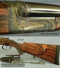 Skeet Shooting, Shooting Guns, Side By Side Shotgun, Anti Materiel Rifle, Firearms, Shotguns, Big Game Hunting, Metal Engraving, Hunting Rifles