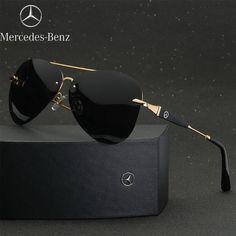 2017 The Best Luxury Polarized Sunglasses Mercedes-Benz Men Driving gafas de sol Cheap Sunglasses, Polarized Sunglasses, Sunglasses Accessories, Mirrored Sunglasses, Sunglasses Women, Mens Aviator Sunglasses, Lunette Style, Fashion Eye Glasses, Mens Glasses