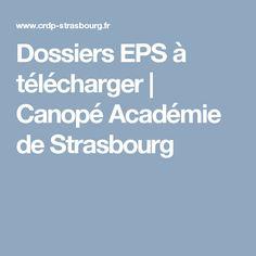 Dossiers EPS à télécharger | Canopé Académie de Strasbourg