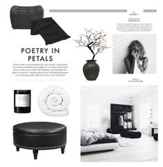 """""""Poetry in Petals"""" by barngirl ❤ liked on Polyvore featuring interior, interiors, interior design, home, home decor, interior decorating, Byredo, Office Star, NOVICA and Brinkhaus"""
