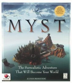MystThe creepy, abandoned island of Myst captivated our minds for hours on end. We never did figure out which brother was really at fault in this challenging riddle of a game. #refinery29 http://www.refinery29.com/nostalgic-90s-computer-games#slide-7