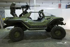 Halo Warthog in REAL LIFE! (and other awesome video game vehicles)