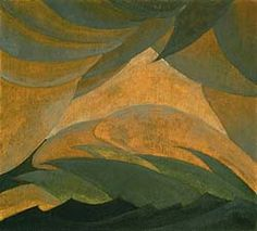 Saw this painting in an exhibition today. Label copy said it was painted at the Huntington, LI harbor. I used to live across the street from the Huntington, LI harbor. And love Arthur Dove's work.