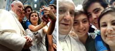 From posing for a selfie to embracing the sick, Francis has proven he's a  pope of the people.  In less than a year at the Vatican, the pope — Time magazine's 2013 Person of the Year — has shaken up many people's interpretation of the papacy, espousing a more inclusive Catholic Church and often showing his humility through personal example. Here are five amazing photos that demonstrate h
