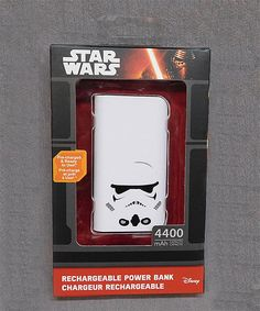 Loving this Star Wars Stormtrooper 4,400-mAh Power Charger on #zulily! #zulilyfinds