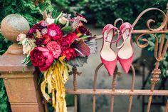 Brandon   Gillian \ Glen Mills, PA Wedding \ Romantic Greenhouse Wedding
