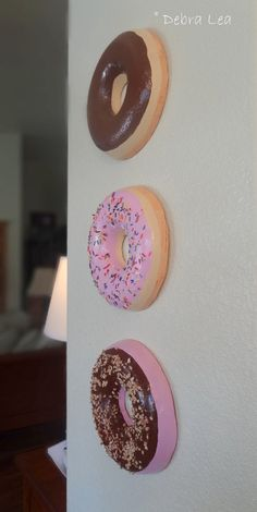 GIANT Faux Donut Fake Glazed Doughnut Pastel by ImagineOutLoud