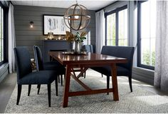 Update your space with dining room furniture in a variety of styles, ranging from classic to modern. Choose dining tables, chairs, bar stools, benches, buffets, kitchen islands and more. Gather everyone around the table for a family dinner with our kitchen furniture, or entertain in style with dining room furniture and bar carts.