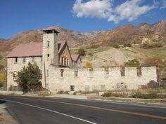 Haunted Old Mill. SLC, Utah