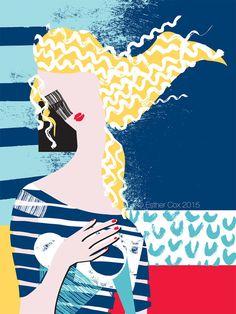 Breton Venus Print by EstherCoxsKiosk on Etsy