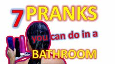 Picture of 7 Pranks you can do in a bathroom #pranks #how to pranks #lol #funny #bromas