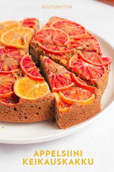 Sugar Free Baking, Gluten Free Baking, Vegan Baking, Healthy Cake, Vegan Cake, Baking Recipes, Cake Recipes, Delicious Blog, Gluten Free Cakes