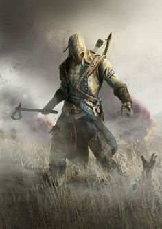 """""""Conor Poster"""" - ASSASSIN'S CREED III"""